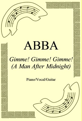 Ok�adka: ABBA, Gimme! Gimme! Gimme! (A Man After Midnight)