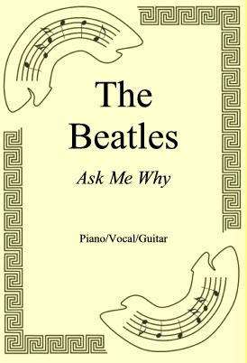 Okładka: The Beatles, Ask Me Why