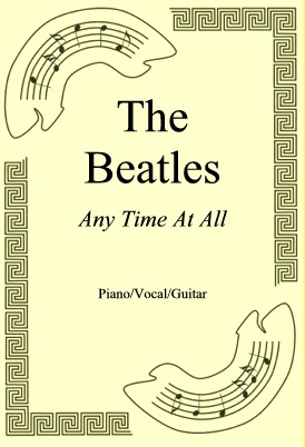 Ok�adka: The Beatles, Any Time At All