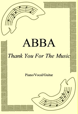 Ok�adka: ABBA, Thank You For The Music