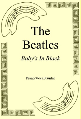 Ok�adka: The Beatles, Baby's In Black