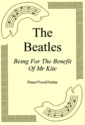 Okładka: The Beatles, Being For The Benefit Of Mr Kite