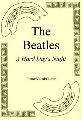 Ok�adka: The Beatles, A Hard Day's Night