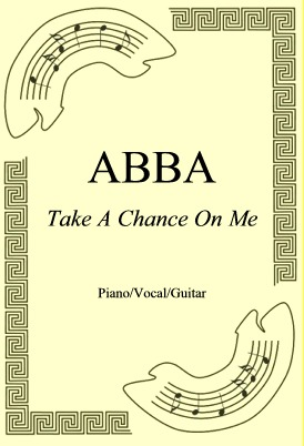Okładka: ABBA, Take A Chance On Me