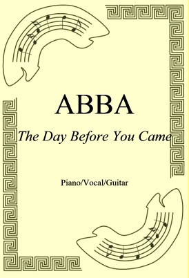 Ok�adka: ABBA, The Day Before You Came