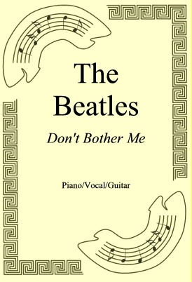 Okładka: The Beatles, Don't Bother Me