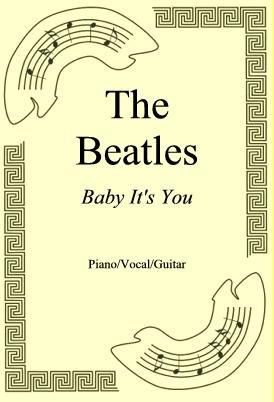 Okładka: The Beatles, Baby It's You