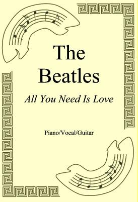 Okładka: The Beatles, All You Need Is Love