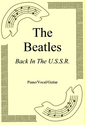 Okładka: The Beatles, Back In The U.S.S.R.