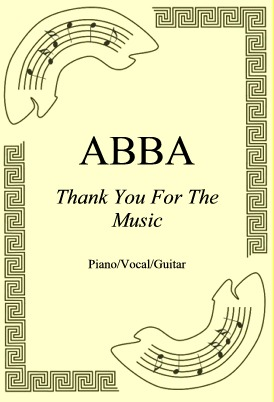 Okładka: ABBA, Thank You For The Music