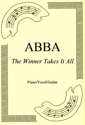 Okładka: ABBA, The Winner Takes It All