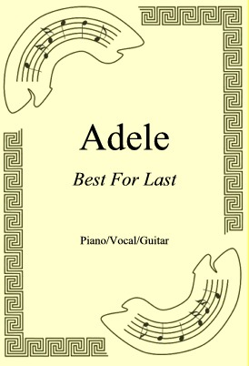 Ok�adka: Adele, Best For Last