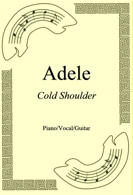 Okładka: Adele, Cold Shoulder