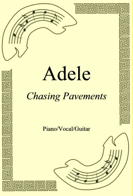 Okładka: Adele, Chasing Pavements
