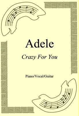 Okładka: Adele, Crazy For You