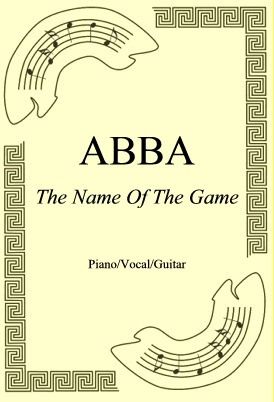 Okładka: ABBA, The Name Of The Game