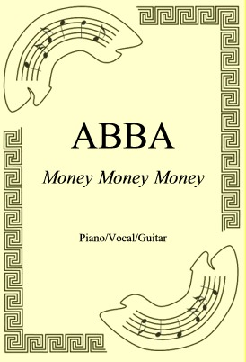 Okładka: ABBA, Money Money Money