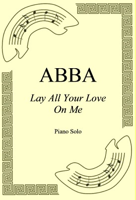 Okładka: ABBA, Lay All Your Love On Me