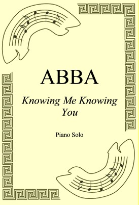 Okładka: ABBA, Knowing Me Knowing You