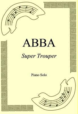 Okładka: ABBA, Super Trouper