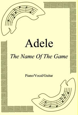 Ok�adka: ABBA, The Name Of The Game