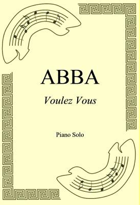 Okładka: ABBA, Voulez Vous
