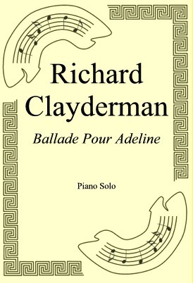 Okładka: Richard Clayderman, Ballade Pour Adeline