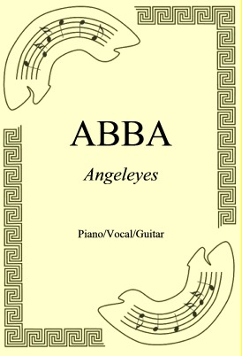 Okładka: ABBA, Angeleyes