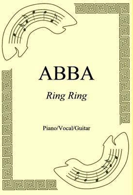 Okładka: ABBA, Ring Ring