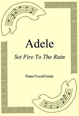 Okładka: Adele, Set Fire To The Rain