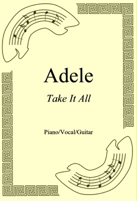 Okładka: Adele, Take It All