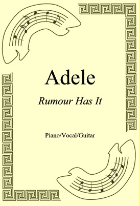 Okładka: Adele, Rumour Has It