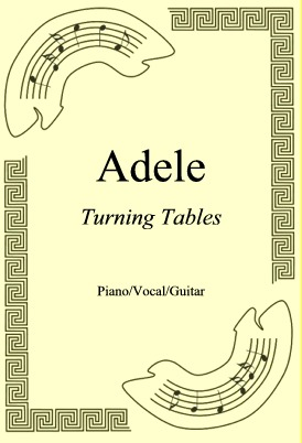 Okładka: Adele, Turning Tables