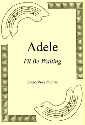 Okładka: Adele, I'll Be Waiting