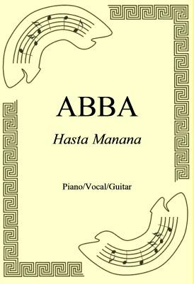Okładka: ABBA, Hasta Manana