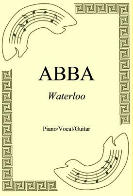 Okładka: ABBA, Waterloo