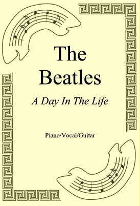 Okładka: The Beatles, A Day In The Life
