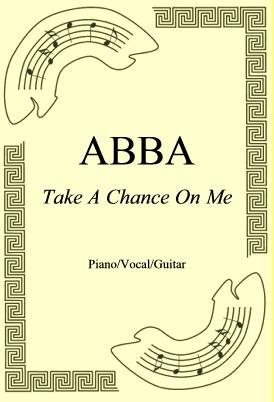 Okładka: ABBA, Take A Chance On Me