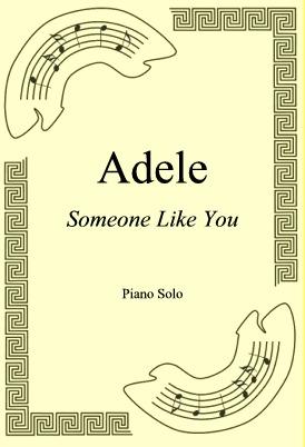 Okładka: Adele, Someone Like You
