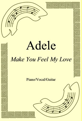 Okładka: Adele, Make You Feel My Love