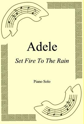 Ok�adka: Adele, Set Fire To The Rain
