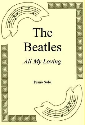 Okładka: The Beatles, All My Loving