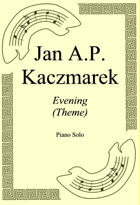 Ok�adka: Jan A.P. Kaczmarek, Evening (Theme)