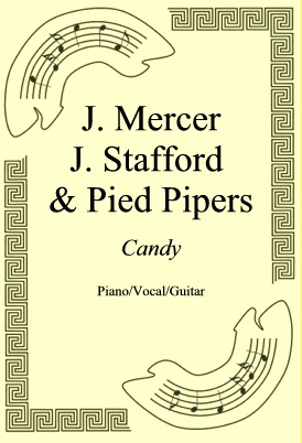 Okładka: J. Mercer J. Stafford & Pied Pipers, Candy