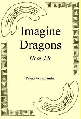 Okładka: Imagine Dragons, Hear Me