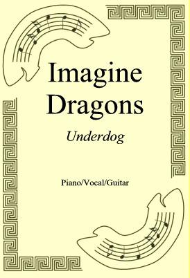 Okładka: Imagine Dragons, Underdog