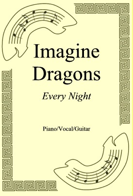 Okładka: Imagine Dragons, Every Night