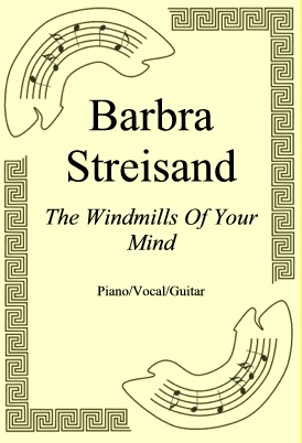 Okładka: Barbra Streisand, The Windmills Of Your Mind
