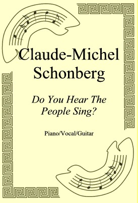 Okładka: Claude-Michel Schonberg, Do You Hear The People Sing?