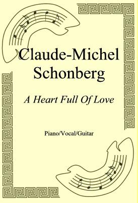 Ok�adka: Claude-Michel Schonberg, A Heart Full Of Love